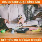 Đội ngũ gia sư chất lượng cao dạy kèm tại nhà quận Bình Tân